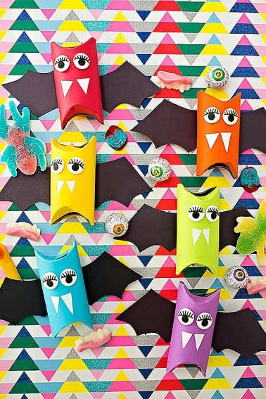 paper lantern cut out Awesome 25 Easy Halloween Crafts For Kids Fun DIY Halloween Decorations